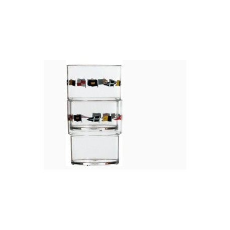 Regata set 12 Vasos Apilables